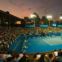 Australian Open: Semi Finals Twilight Session ticket (Catagory 3) + 2 nights Rydges on Swanston