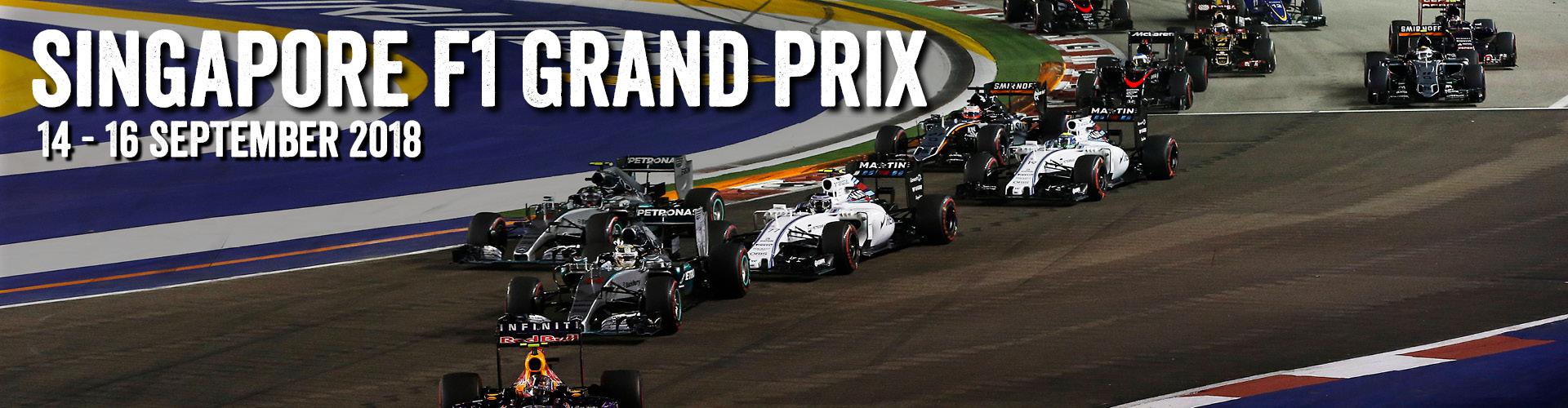 Singapore Grand Prix Sept 2018